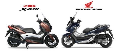 Pcx 2018 Vs Forza by หม ดต อหม ด 2018 Honda Forza 300 Vs Yamaha Xmax 300 ด ให