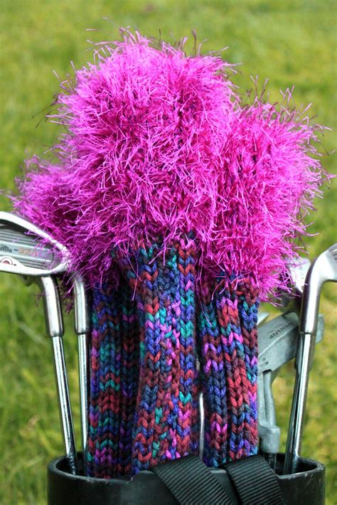 golf covers knit knit golf covers pattern a knitting