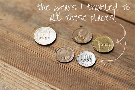 how to make jewelry out of coins mementos and jewelry with coins