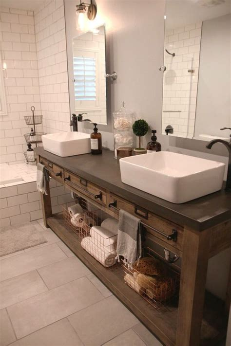 farmhouse bathroom vanity 34 rustic bathroom vanities and cabinets for a cozy touch