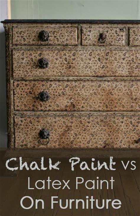 chalk paint vs diy chalk paint chalk paint vs paint on furniture diy