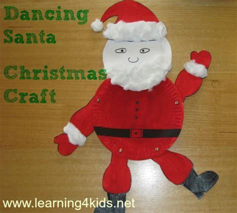 santa paper craft santa craft learning 4