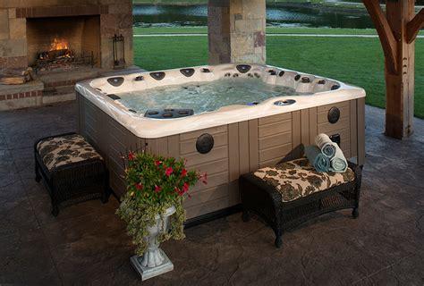 backyard ideas for tubs and swim spas