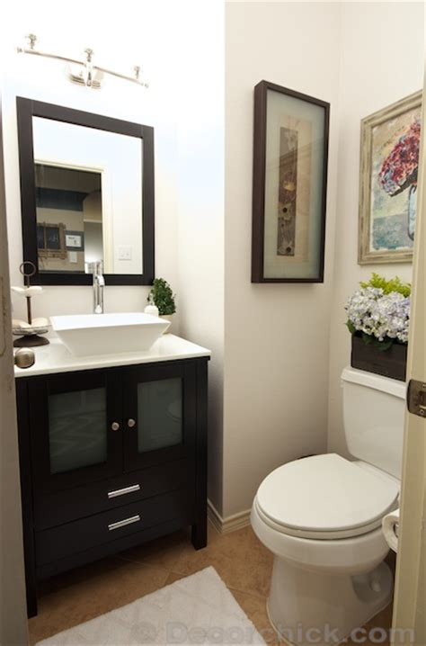 Win A Bathroom Makeover 2014 by Powder Bathroom Makeover Reveal Decorchick