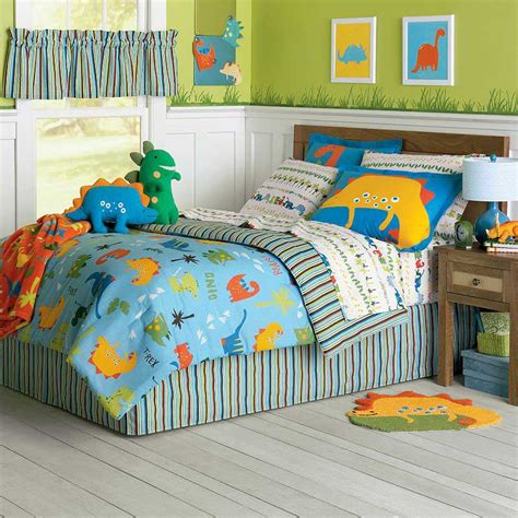 barney toddler bedding set dinosaur bed