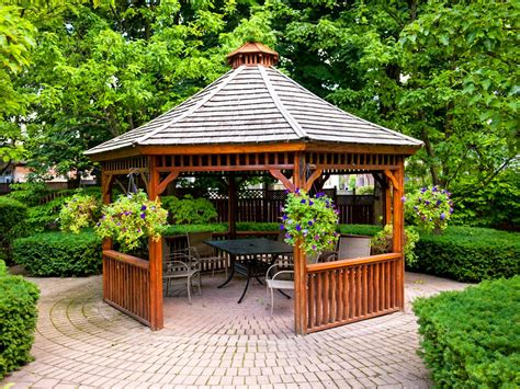 small gazebos for patios patio gazebos hgtv