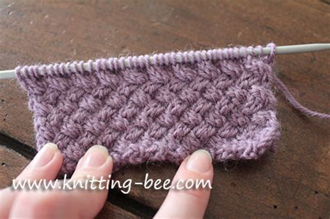 how to knit basket weave stitch basket weave knitting stitch free knitting projects