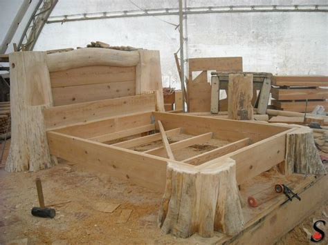 log wood bed frame other log and timber projects by sitka log homes log and