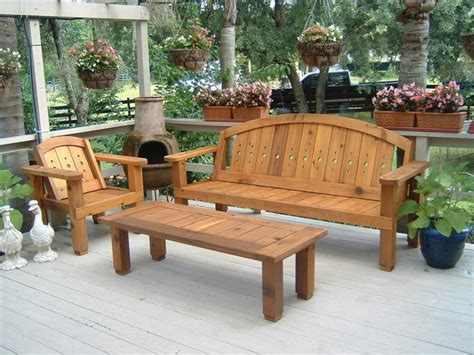 cedar patio furniture sets western cedar patio set outdoor benches orlando