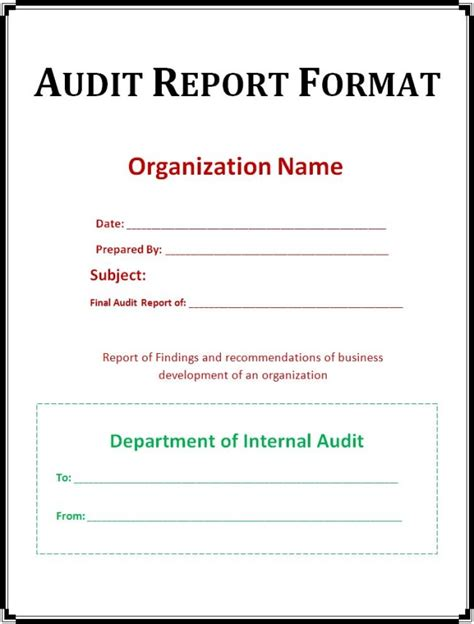 rental invoice template simple audit report format template cover with