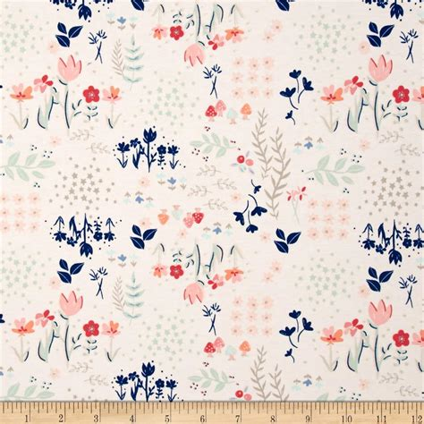 knit print fabric printed cotton cotton blend jersey knit fabric