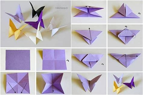 origami out of paper easy paper folding crafts recycled things