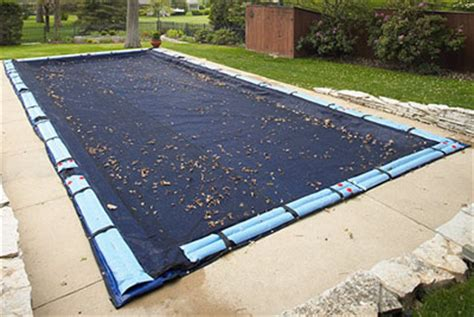 inground pool leaf cover ultra armor maxx leaf net swimming pool covers for