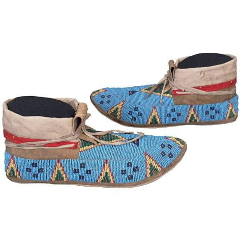 beaded moccasins for sale antique american indian beaded moccasins sioux