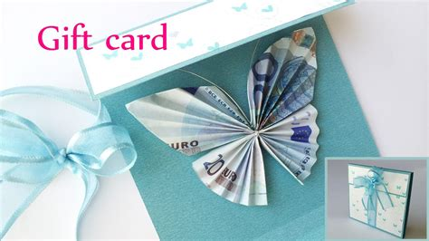 how to make money with gift cards diy crafts gift card money holder butterfly innova