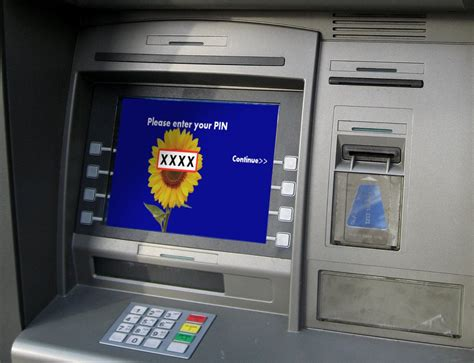 atm card machine why are atm card pins usually just 4 digit 187 science abc
