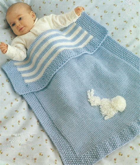 baby blanket knit baby blanket knitting pattern pram cover dk easy knit 296