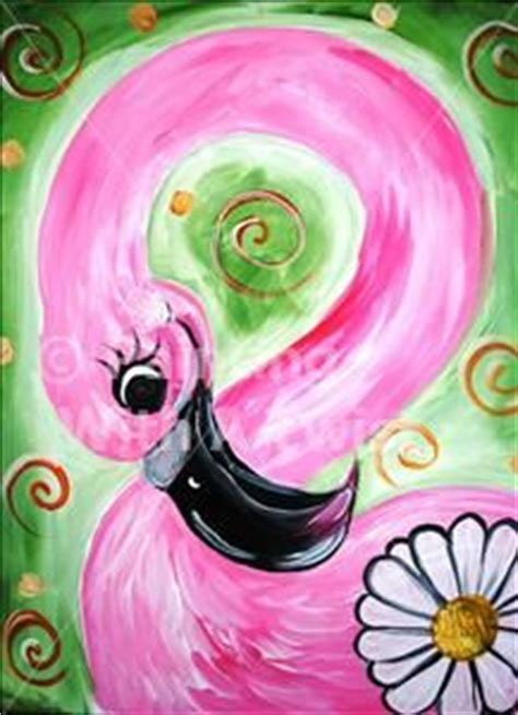 paint with a twist clermont 1000 ideas about flamingo painting on