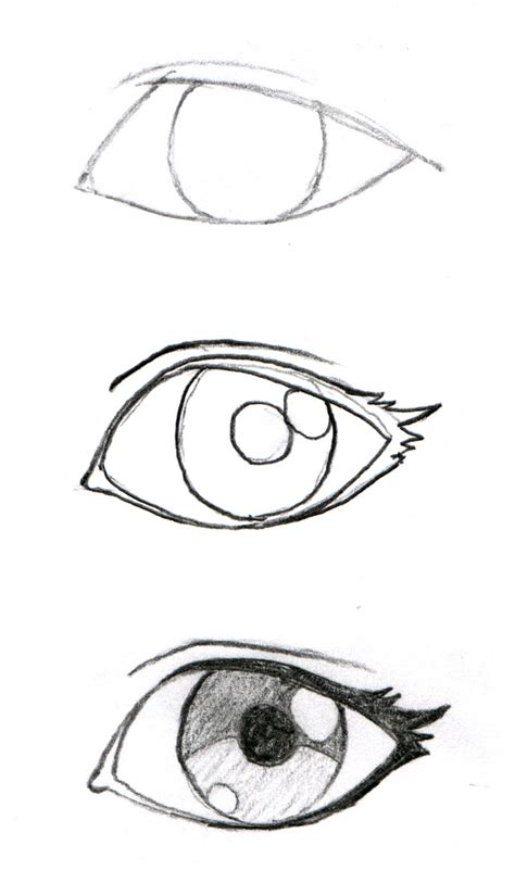 how to draw a eye johnnybro s how to draw drawing part i