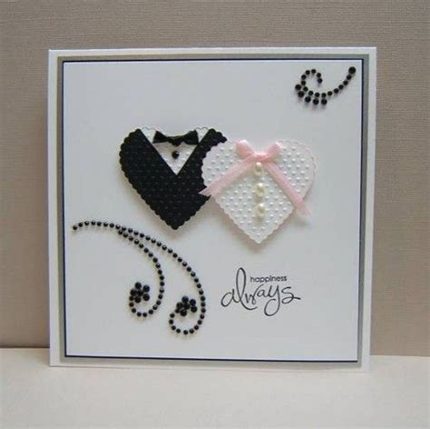 craft paper cards best 25 wedding cards handmade ideas on