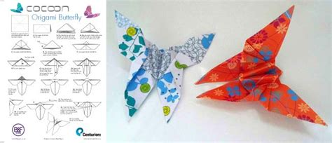 origami butterfly pdf origami butterfly tutorial