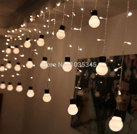 novelty outdoor lights novelty outdoor lighting 48beads with10 big size 5cm