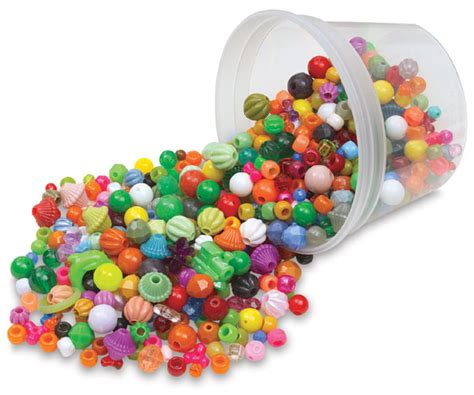 poly bead hygloss assorted plastic blick materials