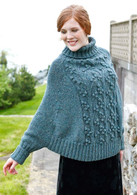 free knitted poncho patterns free pattern poncho odilon f 233 licie 224 crochet