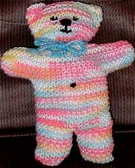 how to knit a simple teddy at home