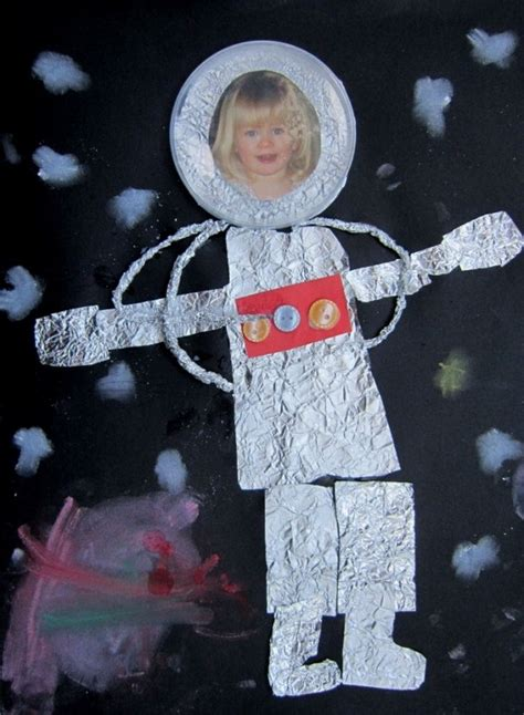 space crafts for astronaut paper plate craft pics about space