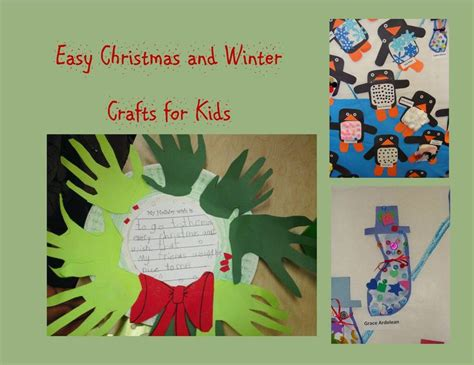 easy winter craft for easy and winter crafts for