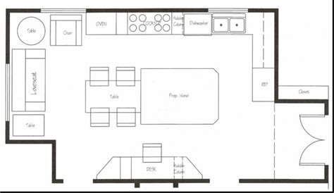 free kitchen floor plans restaurant kitchen layout templates rapflava