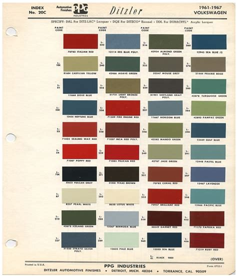 paint colors for vw beetle original vw beetle paint schemes volkswagen awesome and