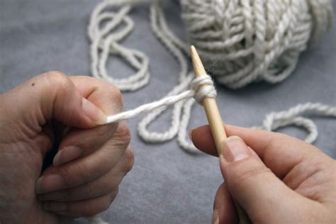 knitting backwards backward loop cast on de handwerkjuf