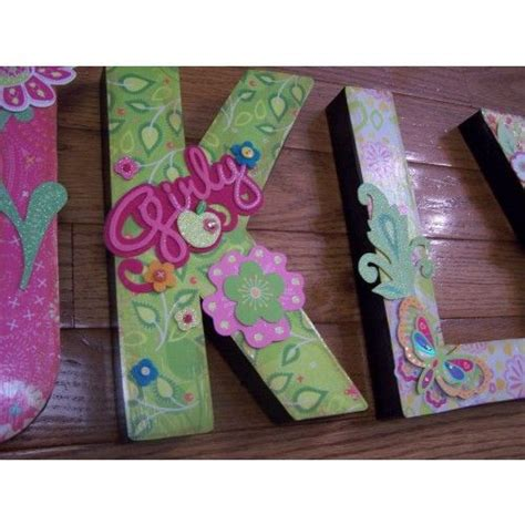 decoupage cardboard letters 10 best images about paper mache letters on