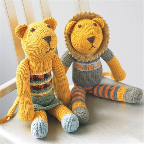 knit toys knitted soft by chunkichilli