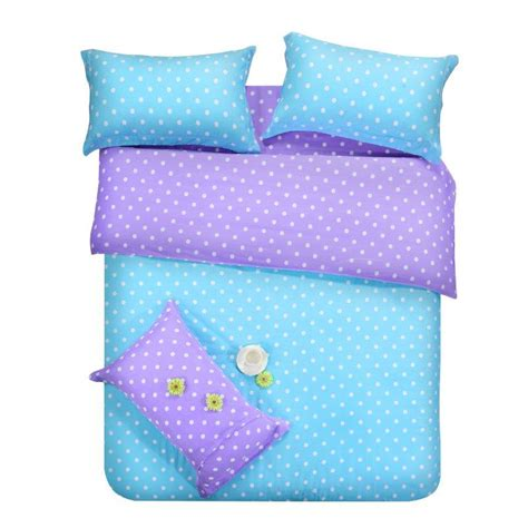 purple polka dot comforter sets purple blue dots bedding sets polka dot
