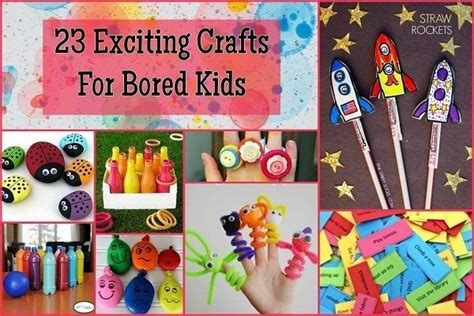 crafts to do when bored for 23 exciting crafts for bored