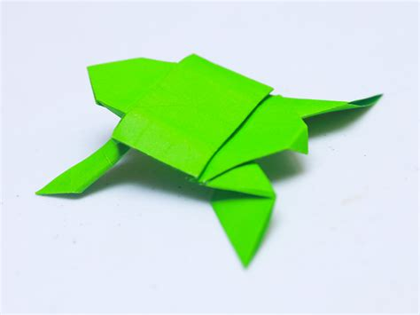 easy turtle origami how to make an origami turtle with pictures wikihow