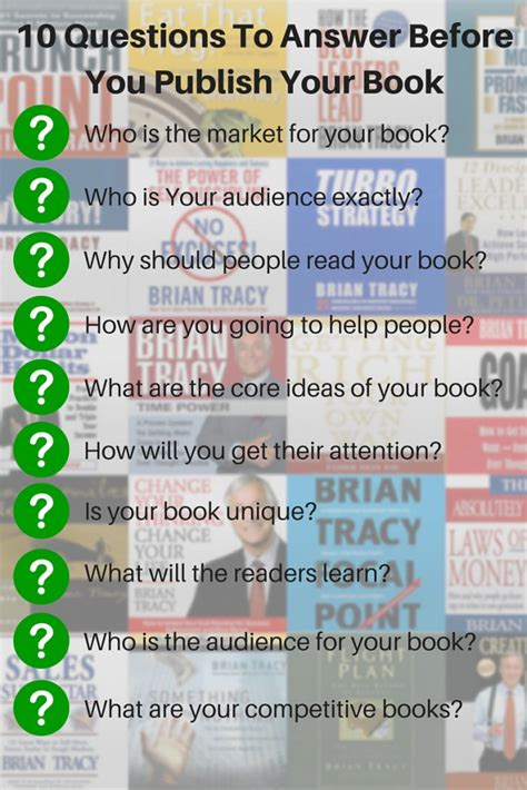 how to publish your publishing a book 10 questions a publisher will ask you