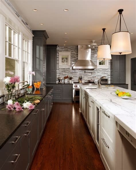 kitchen design ideas images 35 two tone kitchen cabinets to reinspire your favorite