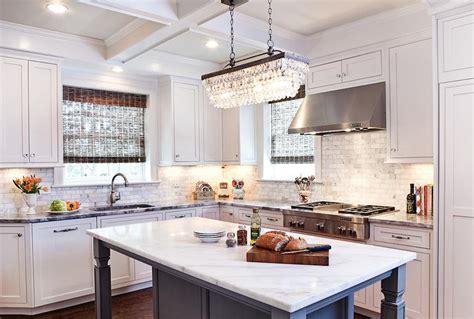 kitchen island chandeliers clarissa drop rectangular chandelier with gray kitchen island transitional