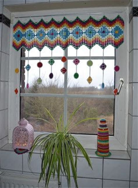 crochet kitchen curtains 15 best ideas about crochet curtains on