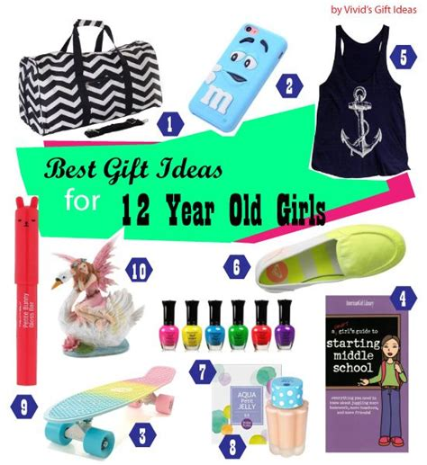 gifts by age list of 12th birthday gifts for