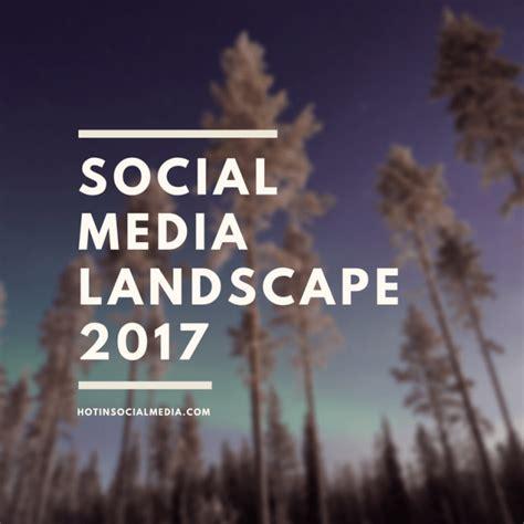 social media landscape social media landscape 2017