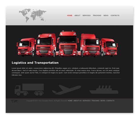 Simple Home Design Software Free transport and logistics template templates dmxzone com