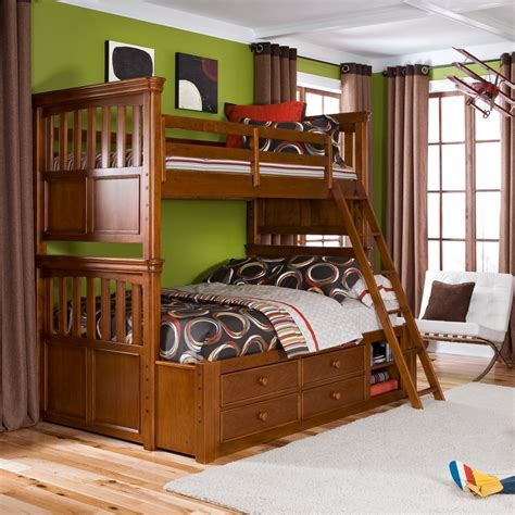leather bunk beds bedroom cheap bunk beds with stairs cool beds
