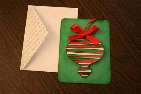 how to make card ornaments handmade cards with a removable ornament chica