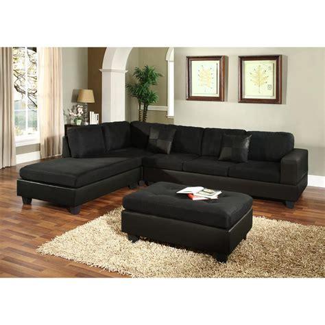 black microfiber sectional sofa black microfiber sectional sofa microfiber faux leather