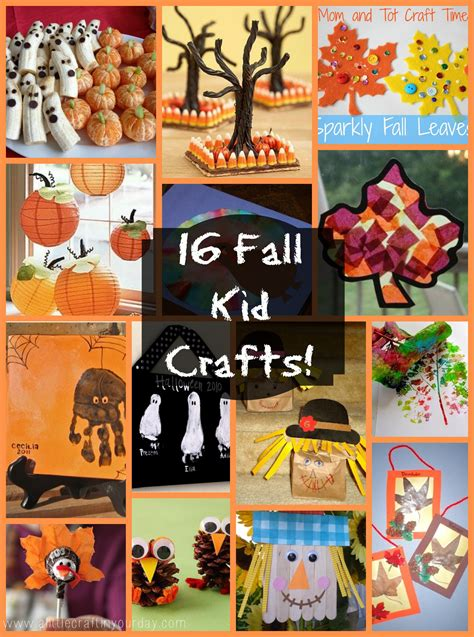 kid fall crafts 16 fall kid crafts a craft in your day